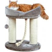 Когтеточка для кошки Марсела, 60 см, серая (47062)