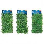 Растение-коврик для аквариума пластик 25*12,5 cм, 1 шт.