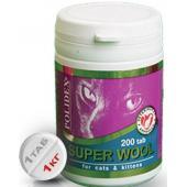 Super Wool Витаминный комплекс для кошек (для кожи и шерсти), 200 таб.
