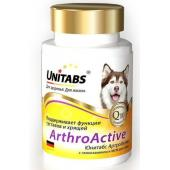 ArthroАctive Витамины с глюкозамином для суставов собак, 100 таб.