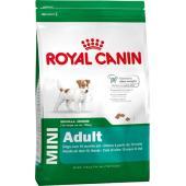 Для взрослых собак малых пород (до 10 кг): 10мес.- 8лет (Mini Adult)