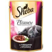 Консервы для кошек Плежер говядина и кролик