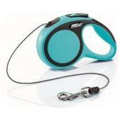Рулетка-трос для животных до 8кг, 3м, голубая (New Comfort XS Cord 3 m, blue)
