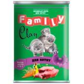 Clan Family консервы для котят