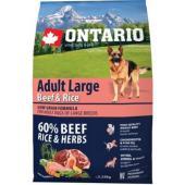 Для собак крупных пород с говядиной и рисом  Adult Large Beef & Rise