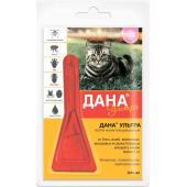 Дана Ультра капли на холку для кошек более 4 кг, 1пипетка, 0,64 мл