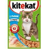 Паучи с рыбой в соусе для кошек