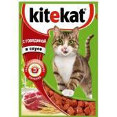 Паучи с говядиной в соусе для кошек