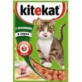 Паучи с кроликом в соусе для кошек