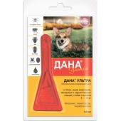 Дана Ультра капли на холку для собак и щенков 5-10 кг,1 пипетка 0,8 мл
