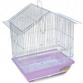 Клетка для птиц, цинк, 34,5*26*44 см (1601 Z)