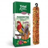 Лакомство для мелких и средних попугаев с овощами (уп. 3 шт)