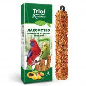 Лакомство для мелких и средних попугаев с фруктами (уп. 3 шт)