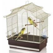 """Клетка для птиц """"Pagoda Export"""" 50*30*53 см, золото (06324)"""
