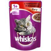 Паучи для кошек рагу говядина и ягненок
