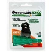 Комбо для собак 40-60 кг от блох, клещей и яиц, 1 пипетка, Combo XL