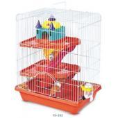 """Клетка """"Замок"""" для мелких грызунов 3 этажа 35*26*46 см (YD-303)"""