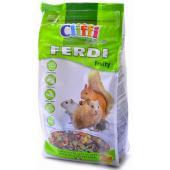 Корм для хомяков, мышей, белок и песчанок с фруктами, грецкими орехами и морковью (Ferdi Fruity SELECTION)