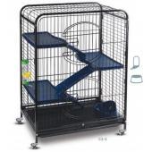 Клетка для животных, 3 полки пластик 64*43,5*92,5 см (С2-2)