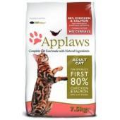 """Беззерновой для Кошек """"Курица и Лосось/Овощи: 80/20%"""" (Dry Cat Chicken & Salmon)"""