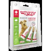 Капли репеллентные  для средних собак весом 10-30 кг, 3 шт по 2,5 мл