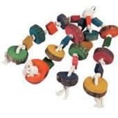 Игрушка для попугая 55*14 см