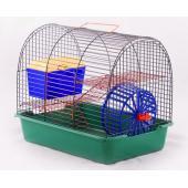 """Клетка для грызунов """"Комфорт-1"""" с домиком, 38,5*27,5*32 см"""