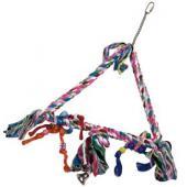 Веревка для попугая TRIANGLE M 39*33*5.5 см