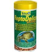 Витаминизированный корм для водных черепах ReptoMin Delica Shrimps