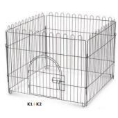 Вольер для животных 4 секции 84х69 см (*4) K1