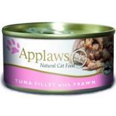 Консервы для Кошек с филе Тунца и Креветками (Cat Tuna Fillet & Prawn)