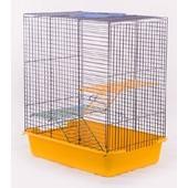 Клетка для грызунов 3х ярусная. 38.5*27.5*43.5 см
