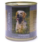 Консервы для собак Говядина с рубцом и печенью (28995)