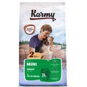 Сухой корм для взрослых собак мелких пород старше 1 года с телятиной 73257