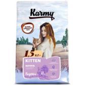 Сухой корм для беременных и кормящих кошек и котят в возрасте до 1 года с индейкой 73288