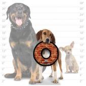 Супер прочная игрушка для собак Кольцо малое, узор кирпич, прочность 10/10