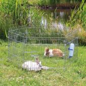 Загон для мелких животных, БЕЗ СЕТКИ, 6 секций (63*60 см) 6250