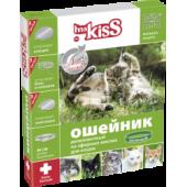 Ошейник от блох, клещей, комаров (защита-3мес.) для котят с 4недель и кошек, 38см, зеленый