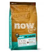 NOW Natural holistic Беззерновой для Взрослых собак Крупных пород с Индейкой, Уткой и овощами (Fresh Adult Large Breed Recipe Grain Free)