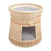 Плетеный домик, лежак