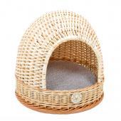 Плетеный домик-лукошко для животных 40*40 см
