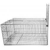 Клетка металлическая для отлова животных 120*50*50 см